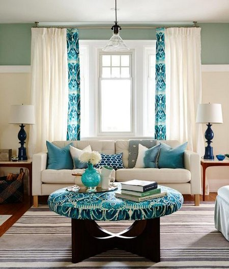 Home Furnishings Websites: Color Selection For Curtains And Soft Furnishings